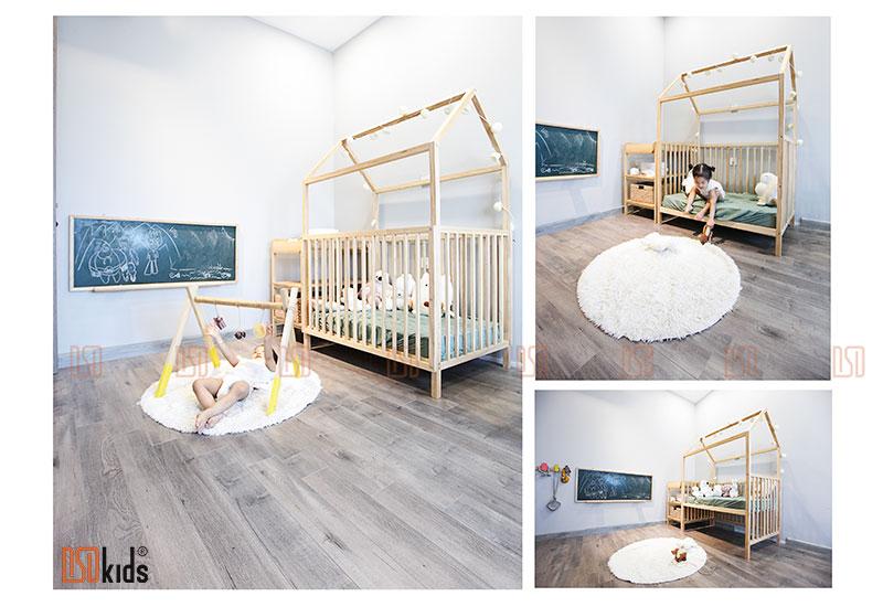 Thiết kế không gian cho bé 0-3 tuổi