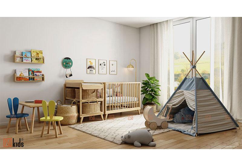 Xu hướng thiết kế nội thất trẻ em năm 2020