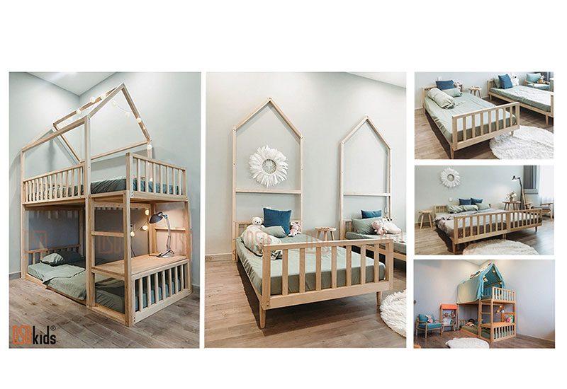 giường tầng thông minh