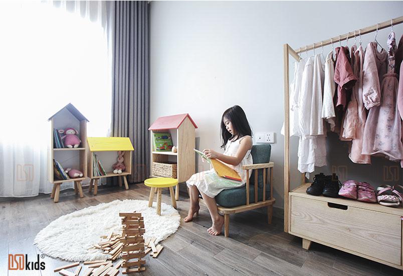 Góc bình yên trong không gian phòng bé 3-6 tuổi