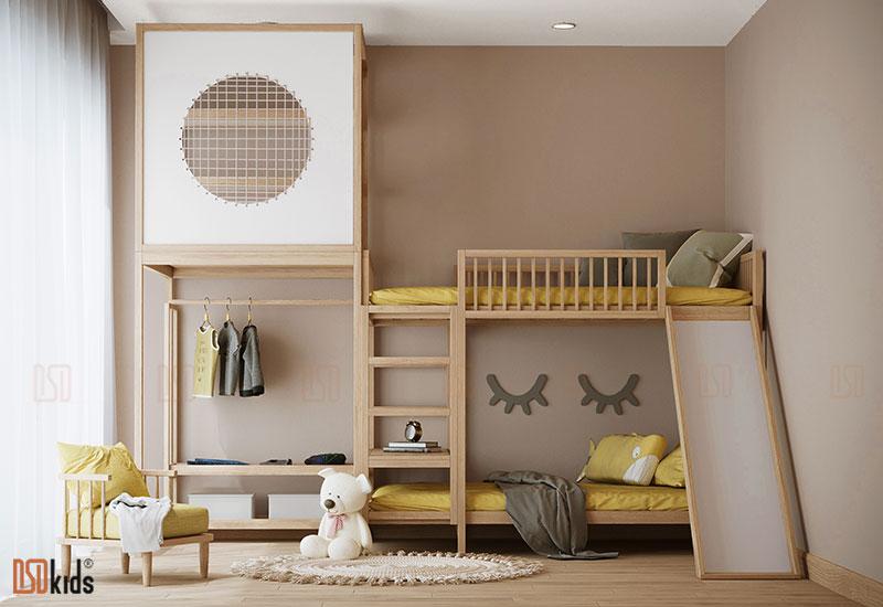 giường 3 tầng cho trẻ em