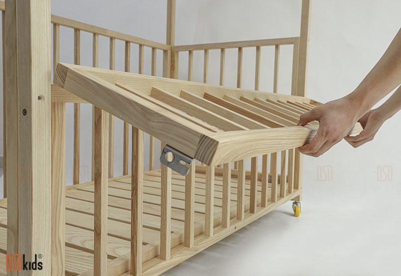 nôi cũi gỗ