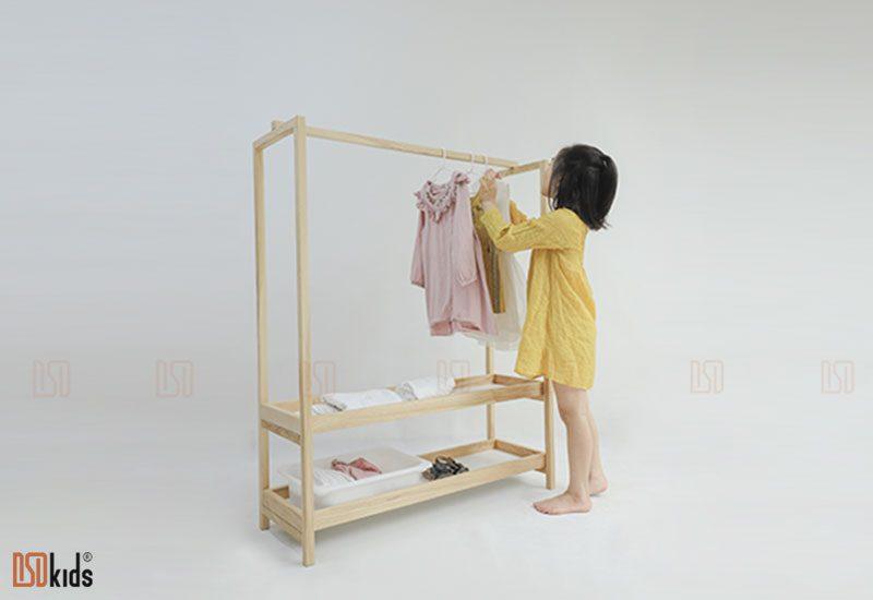 tủ quần áo gỗ tự nhiên