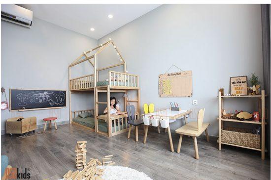 không gian phòng trẻ em