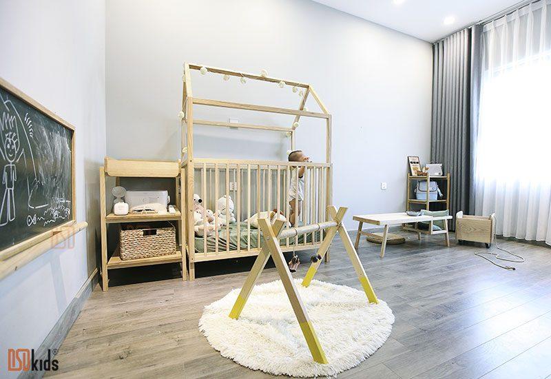 Không gian phòng bé 0-3 tuổi