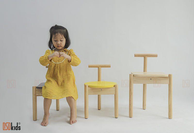 ghế đơn gỗ đẹp