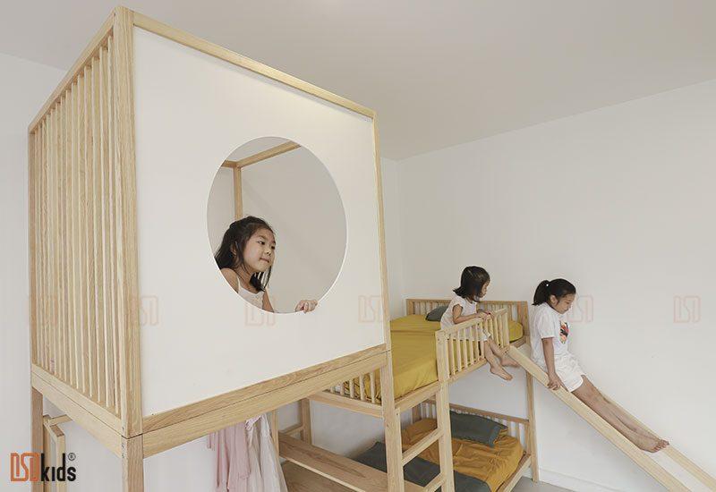 giường 3 tầng cho bé