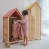 Tủ quần áo trẻ em hình ngôi nhà