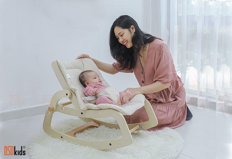 Ghế bập bênh đa năng cho bé
