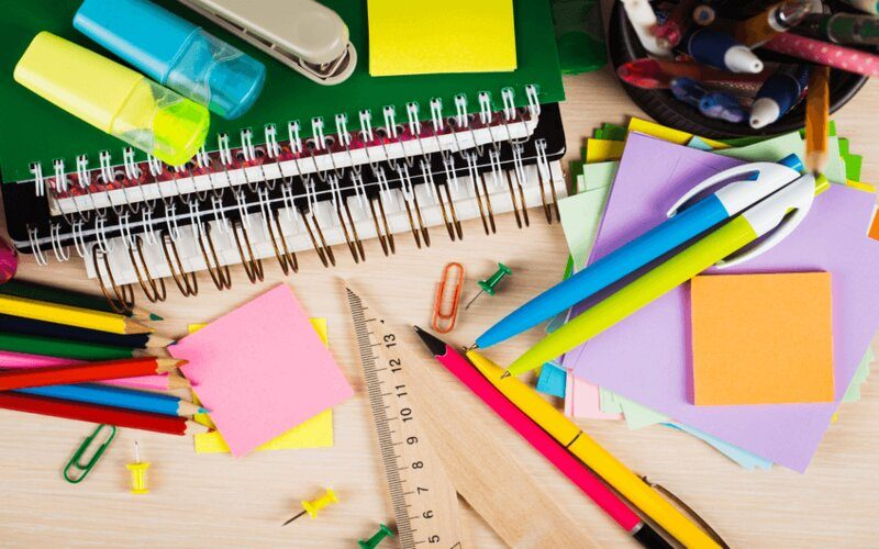 đồ dùng học tập cho học sinh cấp 3
