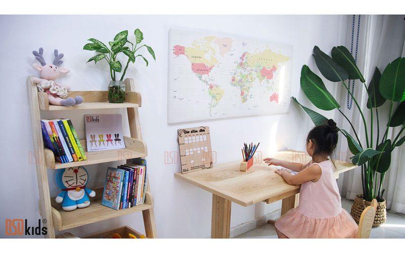 mẫu bàn học cho trẻ lớp 1